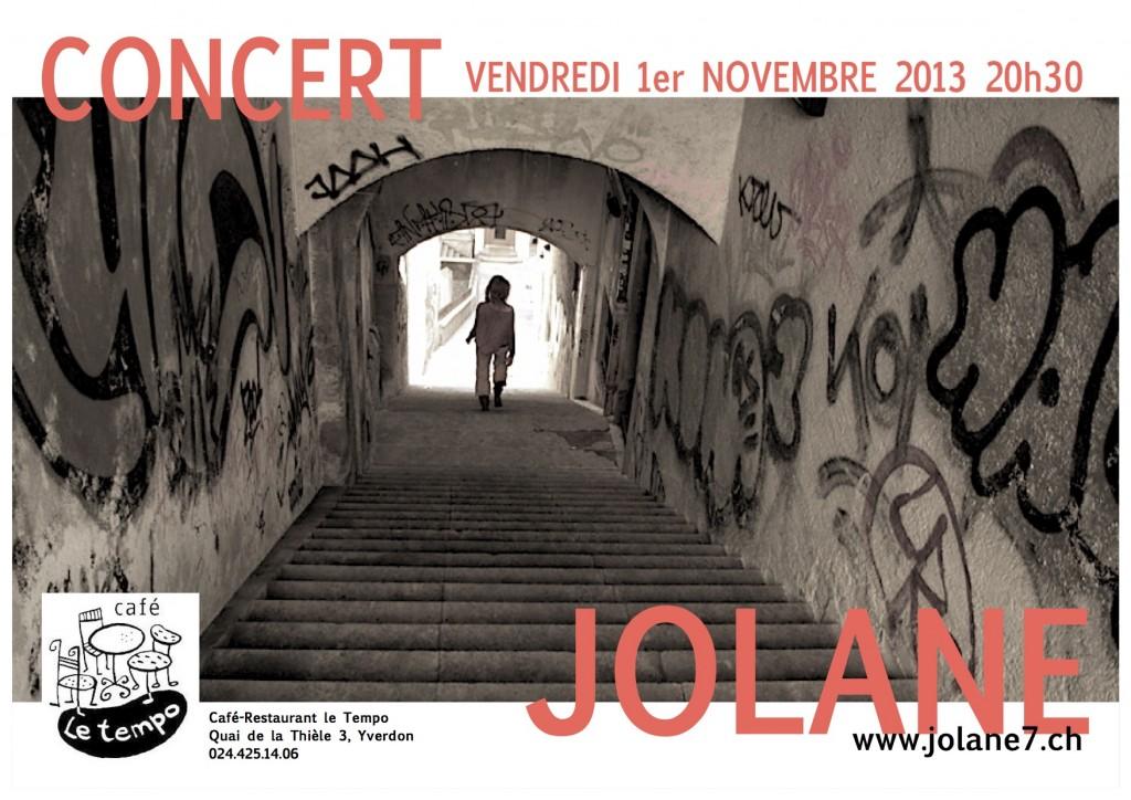 Concert 2013 Jolane au Tempo