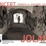 Jolane en concert en trio