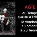 Agie au Tempo le 10 octobre 2014